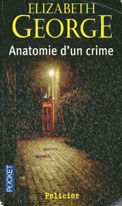 Couverture Anatomie d'un crime