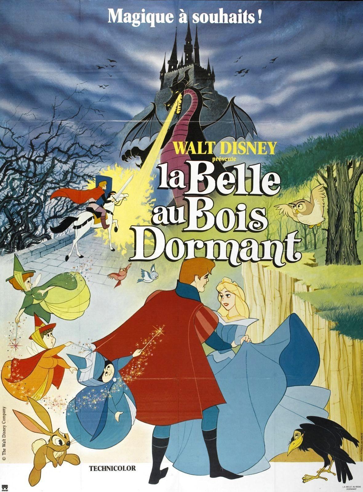 Affiches, posters et images de La Belle au bois dormant (1959) ~ Film Complet La Belle Au Bois Dormant