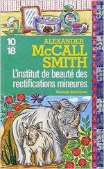 Couverture L'institut de beauté des rectifications mineures