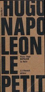 Couverture Napoléon le petit