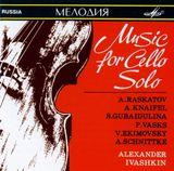 Pochette Music for Cello Solo