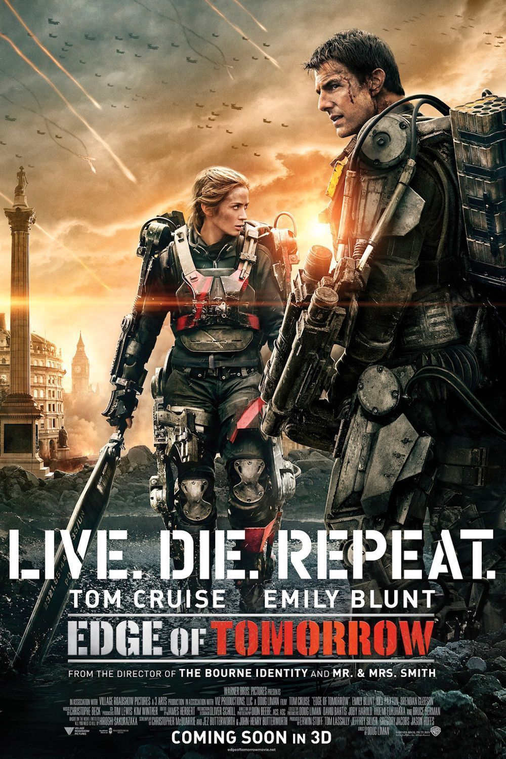 Tomorrow With A Smile Knock Off: Affiches, Posters Et Images De Edge Of Tomorrow (2014