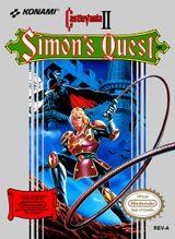 Jaquette Castlevania II : Simon's Quest