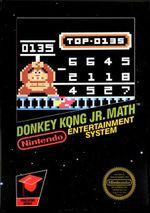 Jaquette Donkey Kong Jr. Math
