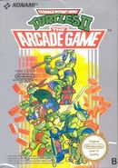 Jaquette Teenage Mutant Hero Turtles II: The Arcade Game