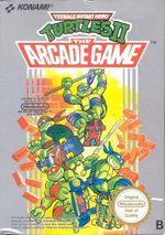 Jaquette Teenage Mutant Hero Turtles II : The Arcade Game