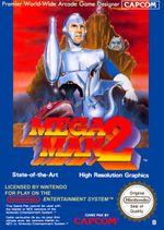 Jaquette Megaman 2