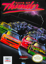 Jaquette Days of Thunder