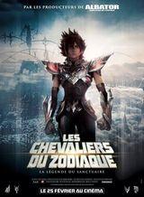 Affiche Les Chevaliers du Zodiaque : La Légende du sanctuaire
