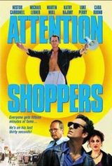 Affiche Attention Shoppers