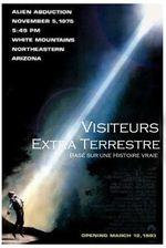 Affiche Visiteurs extraterrestres