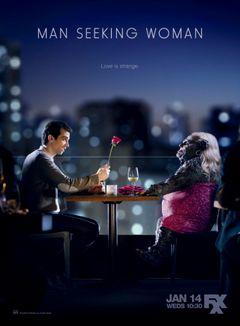 Affiche Man Seeking Woman