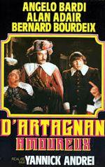 Affiche D'Artagnan amoureux