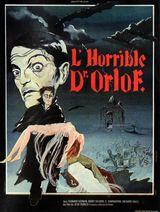 Affiche L'Horrible Docteur Orlof