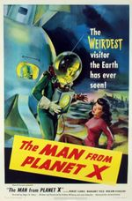 Affiche L'homme de la planète X