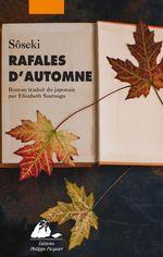 Couverture Rafales d'automne