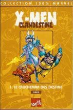 Couverture Le Cauchemar des Destine - X-Men Clandestine, tome 1