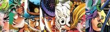 Cover liste de bd: jojo,s bizarre adventure
