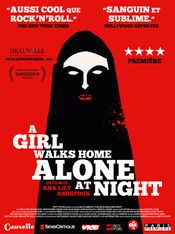 Affiche A Girl Walks Home Alone at Night