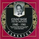 Pochette The Chronological Classics: Count Basie and His Orchestra 1940-1941