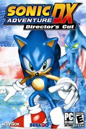 Jaquette Sonic Adventure DX : Director's Cut