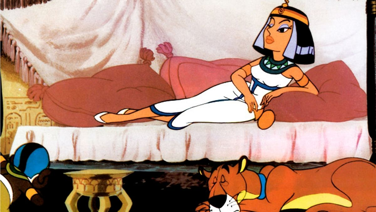 Astérix et cléop tre long métrage d animation