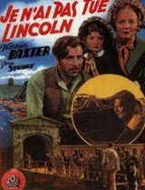 Affiche Je n'ai pas tué Lincoln