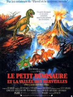 Affiche Le Petit Dinosaure et la Vallée des merveilles