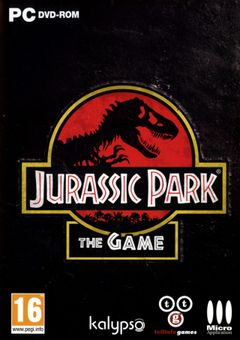 Jaquette Jurassic Park : Le Jeu