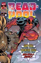 Couverture Deadpool : Volume 1 (Marvel Comics)