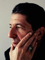 Photo Leonard Cohen
