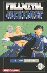 Couverture Fullmetal Alchemist, tome 3