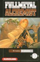 Couverture Fullmetal Alchemist, tome 10