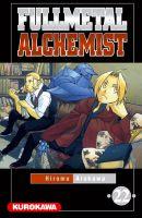 Couverture Fullmetal Alchemist, tome 22