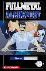 Couverture Fullmetal Alchemist, tome 24