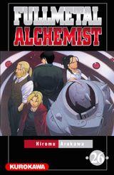Couverture Fullmetal Alchemist, tome 26