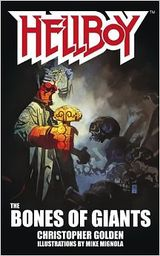 Couverture Hellboy : The Bones of Giants