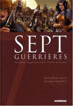 Couverture Sept Guerrières