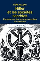 Couverture Hitler et les sociétés secrètes
