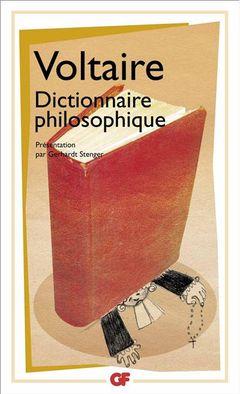 Couverture Dictionnaire philosophique