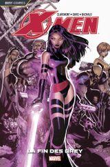 Couverture La Fin des Grey - X-Men, tome 6