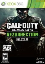 Jaquette Call of Duty : Black Ops - Rezurrection