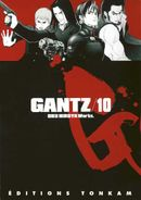 Couverture Gantz, tome 10