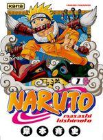 Couverture Naruto Uzumaki !! - Naruto, tome 1