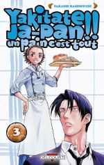 Couverture Yakitate Ja-Pan !! Un pain c'est tout, tome 3