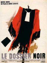 Affiche Le Dossier noir