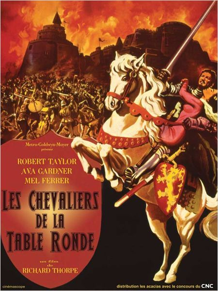 Les chevaliers de la table ronde film 1953 senscritique - Jeu de societe les chevaliers de la table ronde ...
