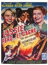 Affiche Lassie perd et gagne