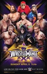 Affiche Wrestlemania XXX