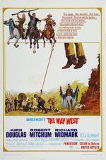 Affiche La Route de l'ouest